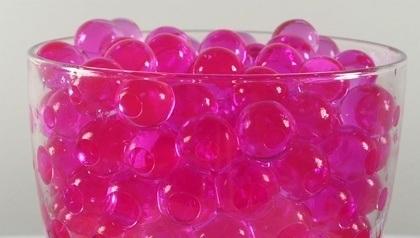 pink magic water balls