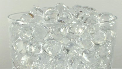 50 Grams - Clear Water Beads